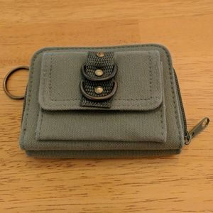 Army green wallet